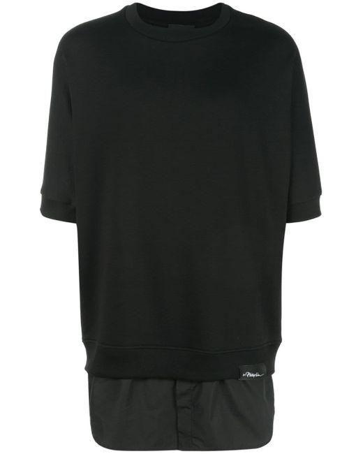 メンズ 3.1 Phillip Lim Shirttail スウェットシャツ Black