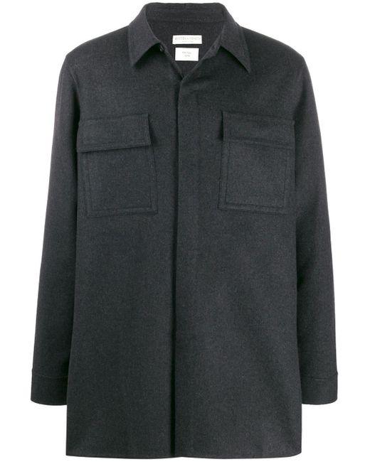 メンズ Bottega Veneta シャツジャケット Gray
