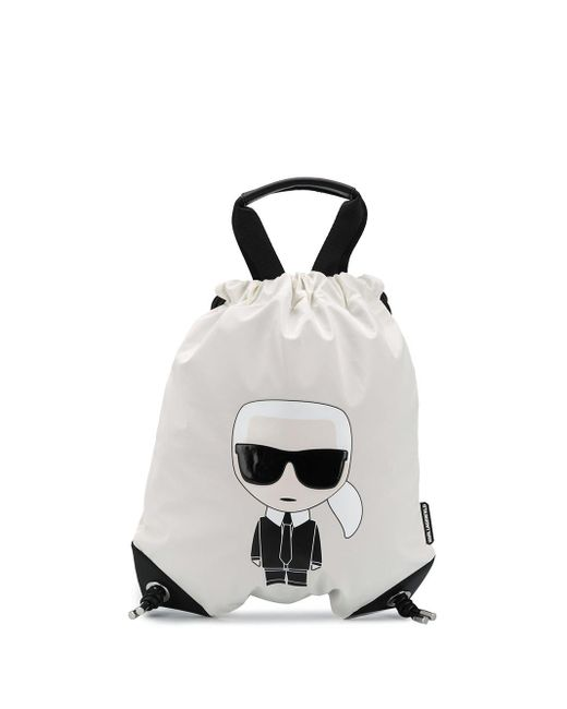 Karl Lagerfeld K/ikonik バックパック Black
