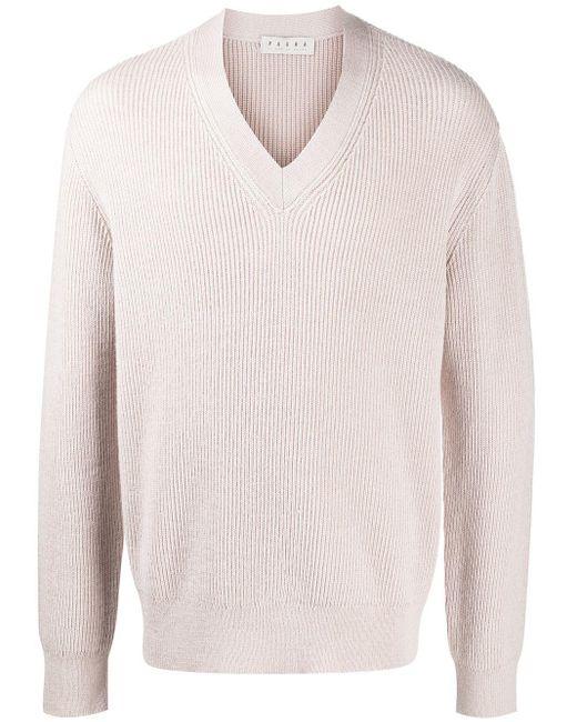 メンズ Paura カットアウト セーター Pink