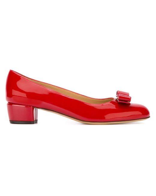 Туфли 'vara' Ferragamo, цвет: Red