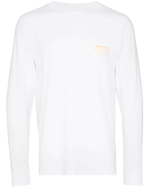 メンズ Reception Mareyeur ロングtシャツ White