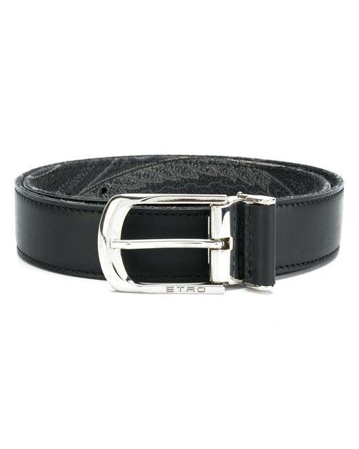 Etro - Black Skinny Belt for Men - Lyst