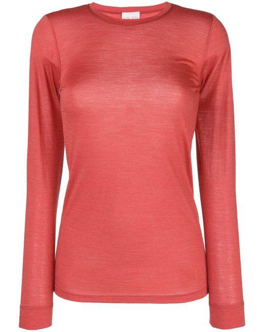 Forte Forte ライトウェイト セーター Pink