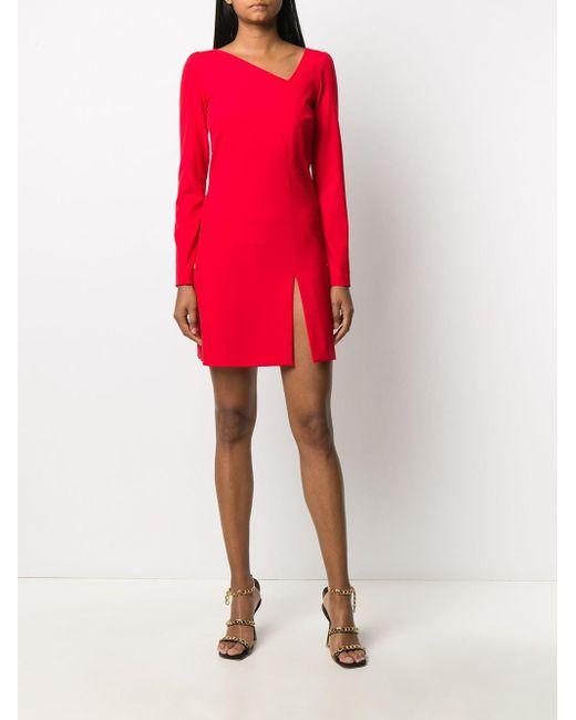 Just Cavalli ロゴ ドレス Red