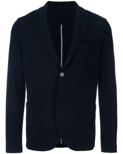 Harris Wharf London - Blue Jersey Blazer for Men - Lyst