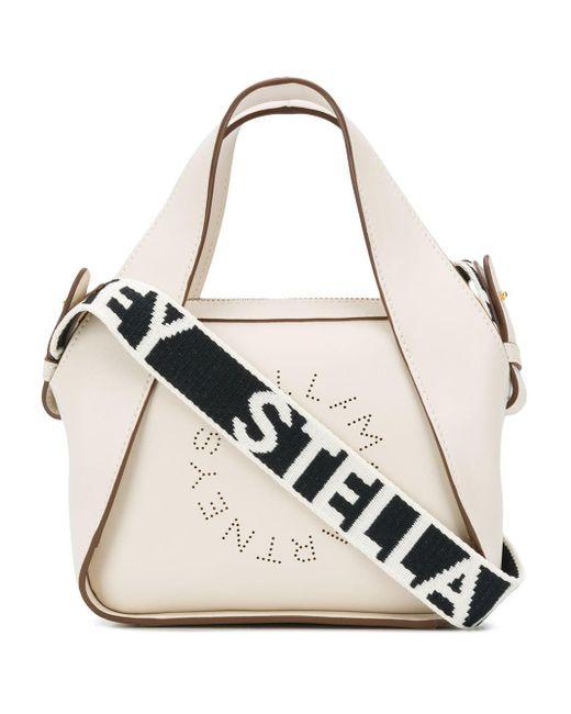 Stella McCartney ステラロゴ ハンドバッグ White