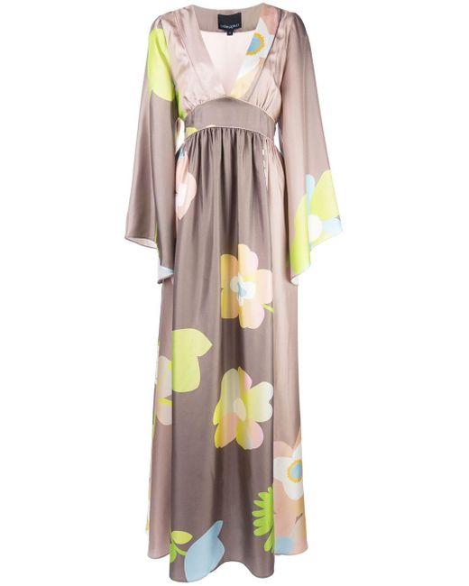Cynthia Rowley Yvonne フローラル ドレス Multicolor