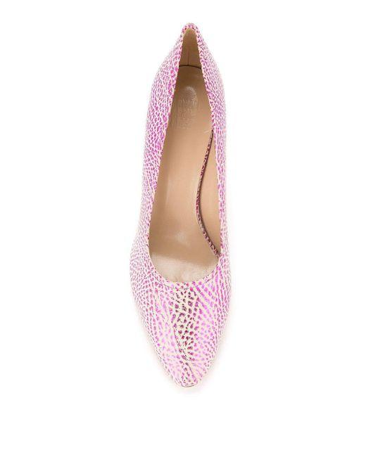 Maryam Nassir Zadeh ブロックヒール パンプス Pink