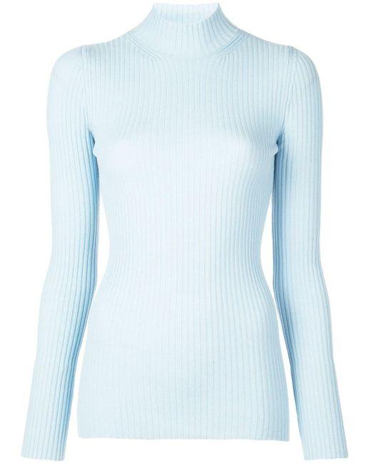 Kwaidan Editions タートルネック セーター Blue