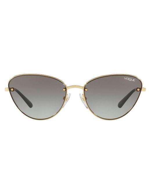 Vogue Eyewear Metallic Cat-Eye-Sonnenbrille