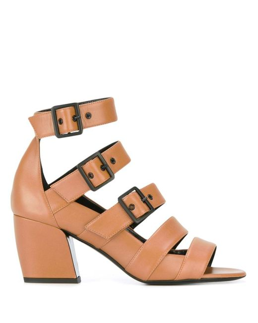 Pierre Hardy Parallele サンダル Brown