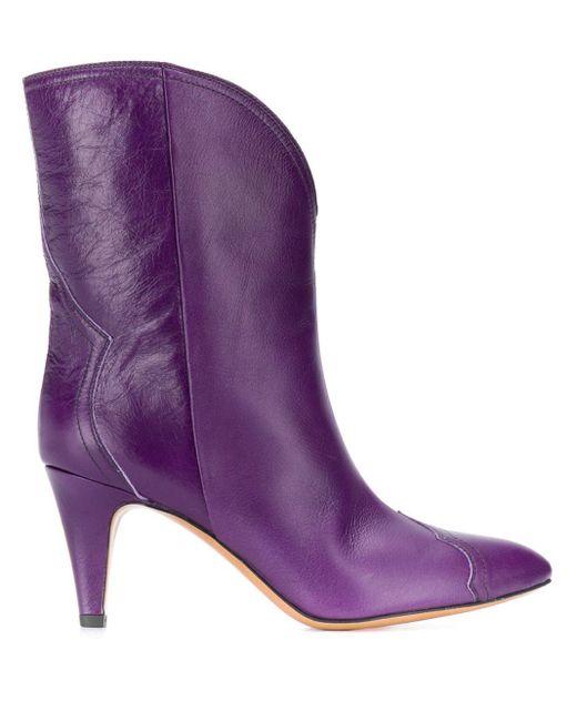 Isabel Marant アンクルブーツ Purple