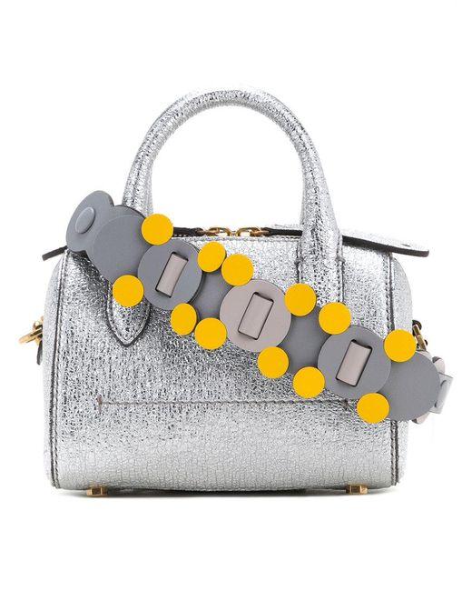 Anya Hindmarch | Metallic Mini Vere Cross Body Bag | Lyst