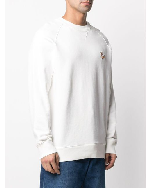 Maison Kitsuné Chillax Fox スウェットシャツ White