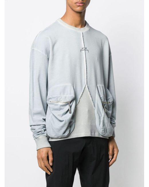 メンズ A_COLD_WALL* Overlock スウェットシャツ Multicolor