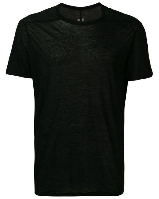 メンズ Rick Owens Level Tシャツ Black