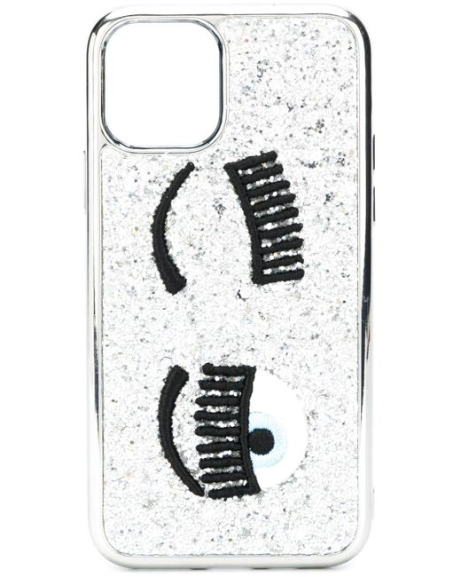 Chiara Ferragni Winking Eye Iphone 11 ケース Metallic