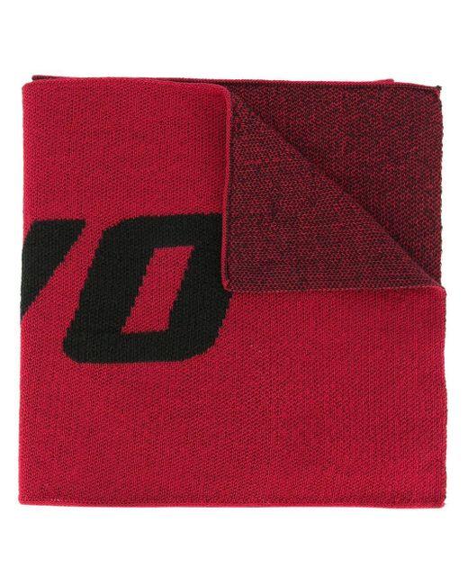 Strateas Carlucci ジャカード スカーフ Red