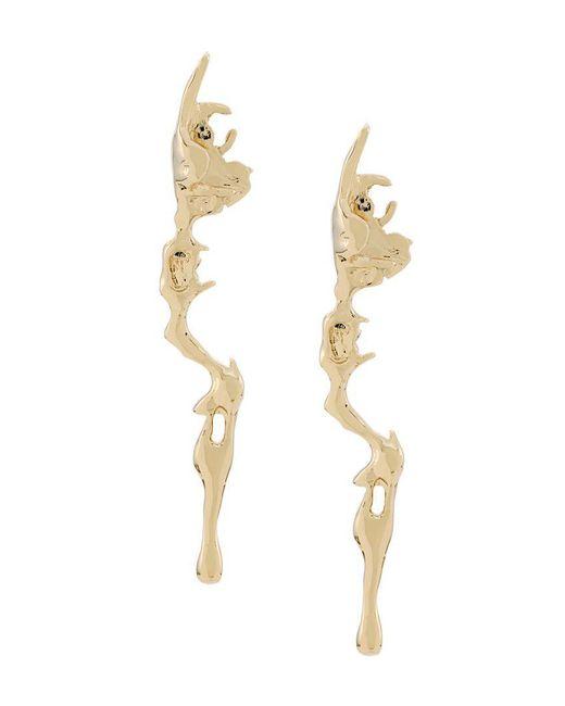 Annelise Michelson - Metallic Lava Earrings - Lyst