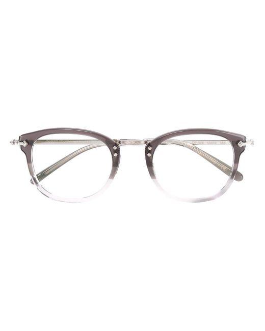 メンズ Oliver Peoples ラウンド 眼鏡フレーム Multicolor