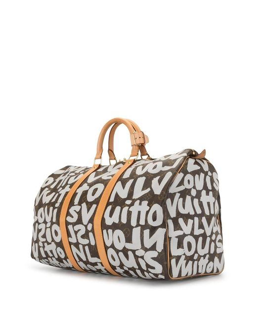Дорожная Сумка Graffiti Keepall 50 2001-го Года Louis Vuitton, цвет: Multicolor
