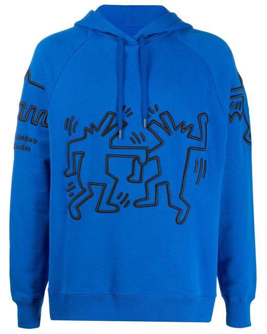 メンズ Etudes Studio Racing Keith Haring パーカー Blue