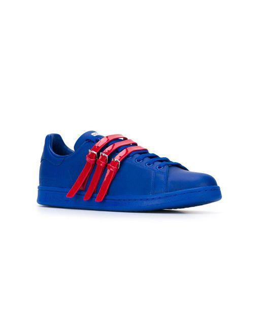 メンズ Adidas By Raf Simons Stan Smith スニーカー Blue