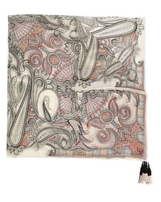 Etro ペイズリー スカーフ Multicolor
