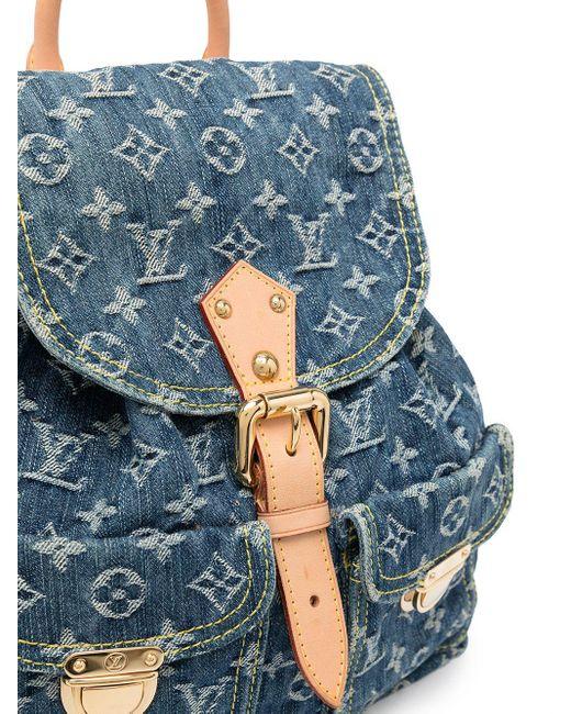 Louis Vuitton 2006 プレオウンド サック ア ド Gm バックパック Blue