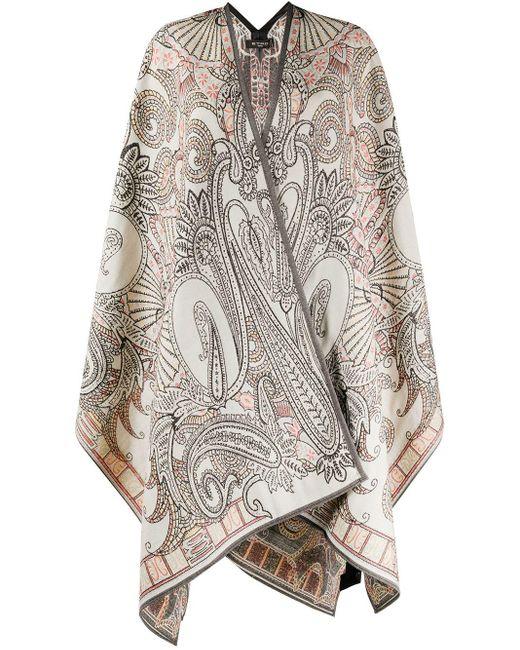 Etro ペイズリー コート Multicolor