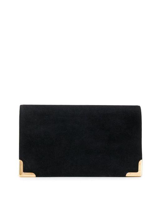 Клатч Alskin 1960-х Годов Pre-owned Hermès, цвет: Black