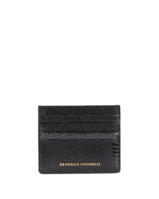 Brunello Cucinelli カードケース Black
