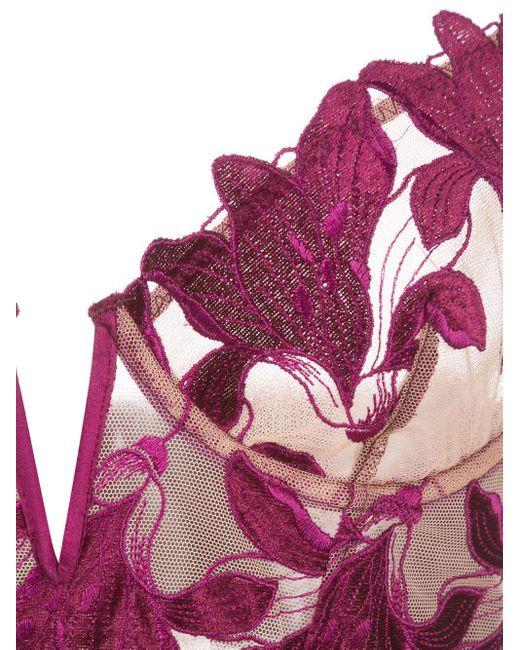 Fleur du Mal Lily ブラジャー Purple