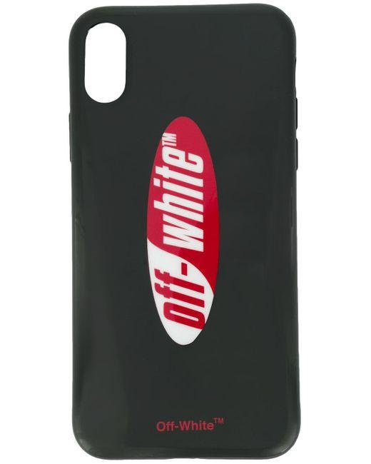 Coque d'iPhone X à logo Off-White c/o Virgil Abloh pour homme en coloris Black