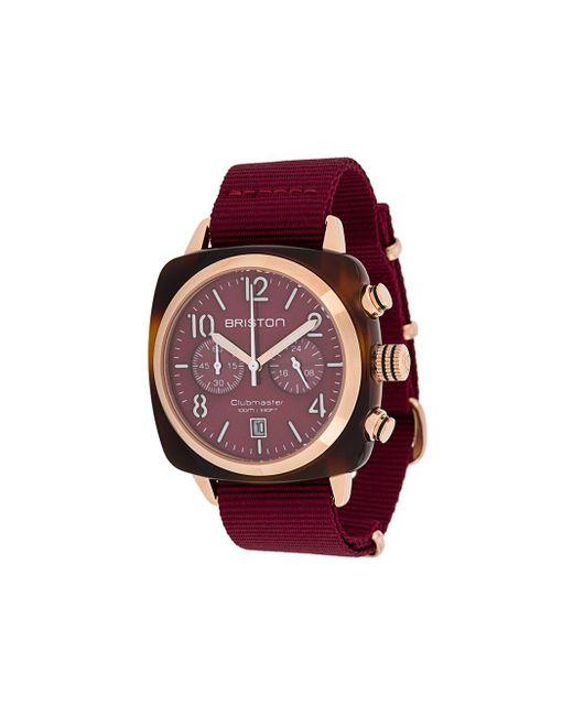 Наручные Часы Clubmaster Classic 40 Мм Briston, цвет: Red