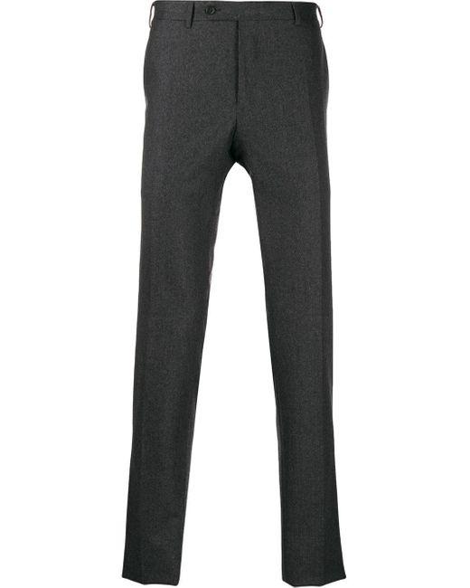 メンズ Canali テーラードパンツ Gray