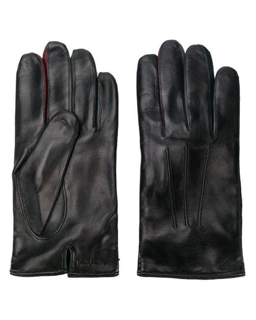 Перчатки С Тисненым Логотипом Paul Smith для него, цвет: Black