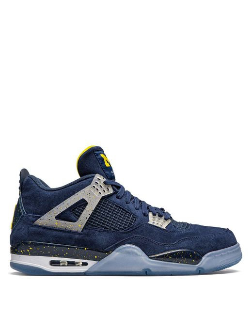 メンズ Nike Air 4 Retro スニーカー Blue