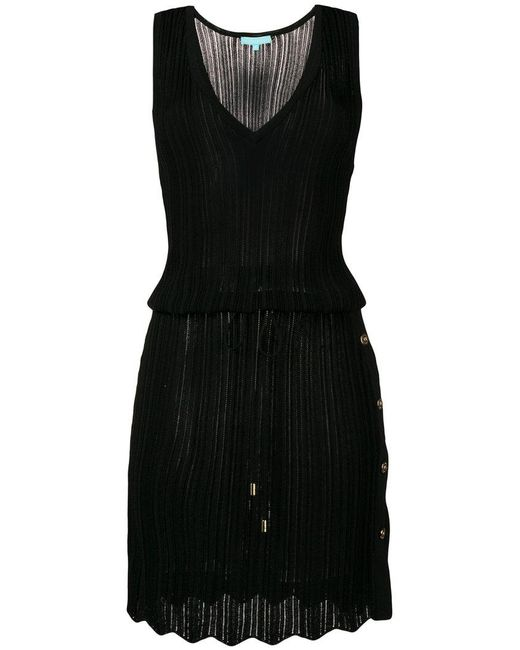 Melissa Odabash - Black Knitted Dress - Lyst