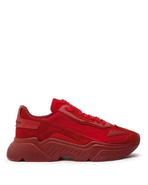 Кроссовки Daymaster Dolce & Gabbana для него, цвет: Red