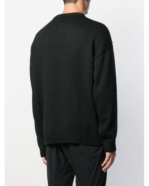メンズ Gcds ロゴ セーター Black