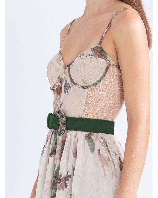 PATBO フローラル ドレス Multicolor