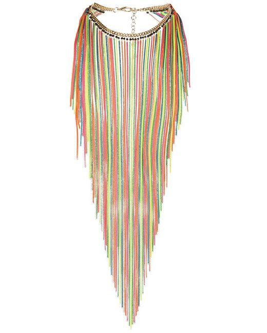 Rosantica - Multicolor Medusa Necklace Multicoloured Chains - Lyst