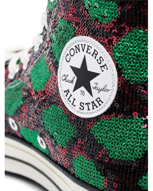 Sneakers CT70 con stampa di Converse in Black da Uomo