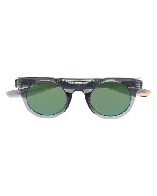 Nike Gray Round-frame Sunglasses for men
