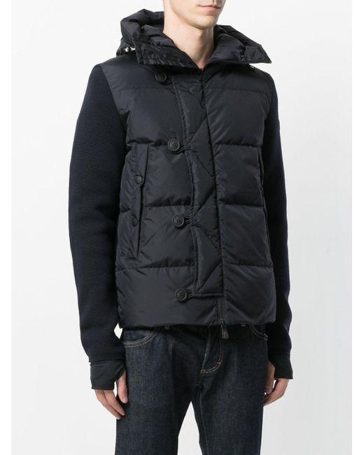 moncler grenoble padded jacket in blue for men lyst. Black Bedroom Furniture Sets. Home Design Ideas
