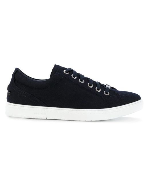 Jimmy Choo - Blue Lace-up Sneakers for Men - Lyst