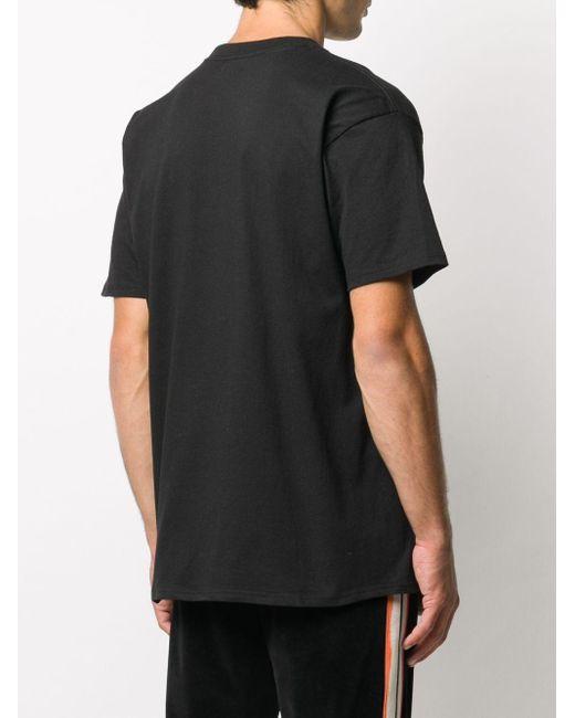 メンズ Chinatown Market プリント Tシャツ Black