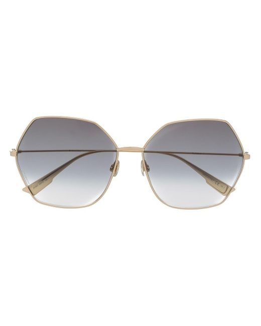 Солнцезащитные Очки Diorstellaire8 В Оправе Геометричной Формы Dior, цвет: Metallic